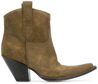 Maison Margiela mid-calf Western ankle boots