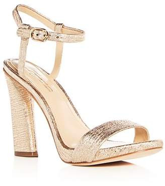 Vince Camuto Imagine Women's Sune Distressed Metallic High-Heel Sandals