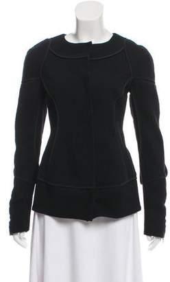 Narciso Rodriguez Wool Crew Neck Jacket