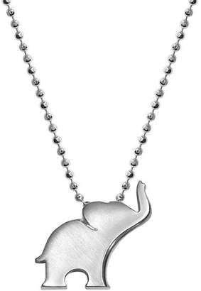 Alex Woo Silver Luck Elephant Necklace, 16""