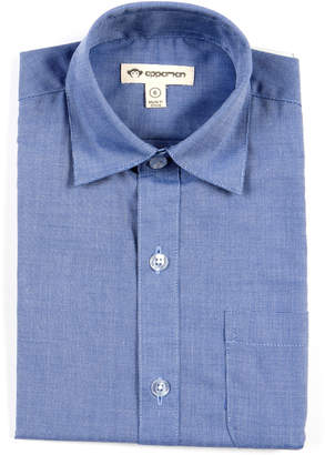 Appaman Standard Solid Long-Sleeve Shirt, Size 2-10
