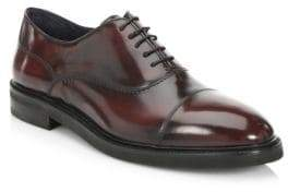 Saks Fifth Avenue COLLECTION Radiant Leather Derbys