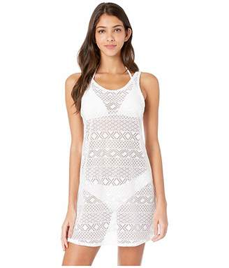 Roxy Garden Summers Crochet Dress Cover-Up