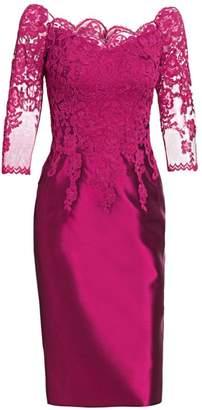 a5ceaf08ff1 Morley Helen Lace Bodice Cocktail Dress