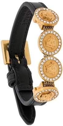 Versace Medusa medallion bracelet