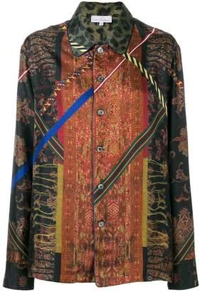 Pierre Louis Mascia Pierre-Louis Mascia Aloe button blouse