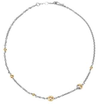Bottega Veneta Dichotomy necklace