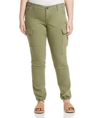 SLINK Jeans Plus Twill Cargo Jogger Pants