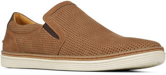 Donald J Pliner Men's Travis Perforated Nubuck Slip-On Sneaker