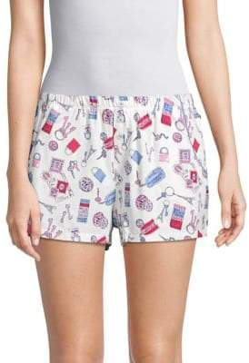 Printed Pull-On Shorts