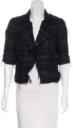 Chanel Cropped Bouclé Jacket