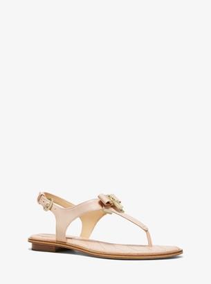 MICHAEL Michael Kors Alice Patent Leather Sandal