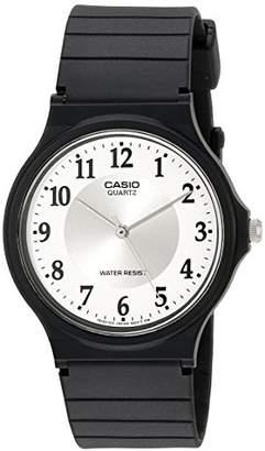 Casio Women's MQ24-7B3LL Classic Resin Band Watch