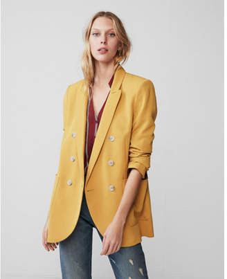 Express double breasted blazer