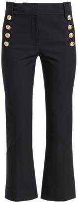 Derek Lam 10 Crosby Robertson Crop Flare Pants