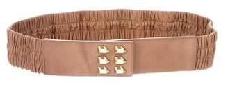 Diane von Furstenberg Embellished Elastic Belt
