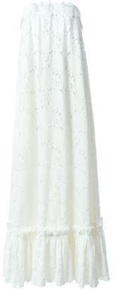 Lanvin strapless bridal dress $7,600 thestylecure.com