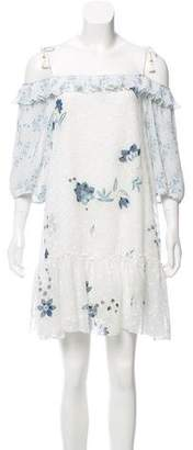 See by Chloe Off-The-Shoulder Floral Dress