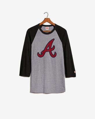 Express Homage Atlanta Braves Baseball Tee