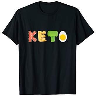 KETO Food Bacon Cheese Broccoli Egg Keto Shirt