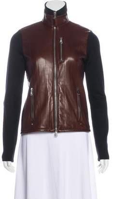 Ralph Lauren Leather-Paneled Jacket