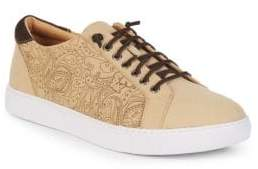 Robert Graham Lima Leather Low-Top Sneakers