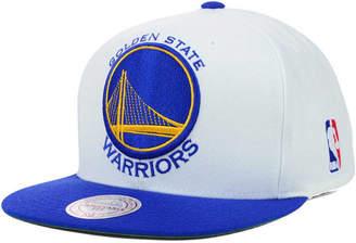Mitchell & Ness Golden State Warriors Xl Logo Snapback Cap