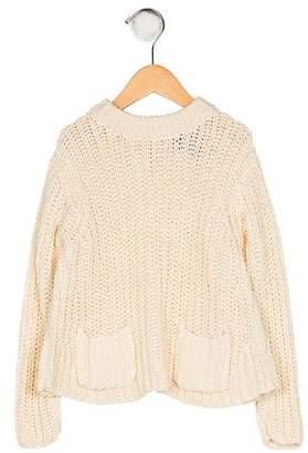 Polo Ralph Lauren Girls' Knit Crew Neck Sweater