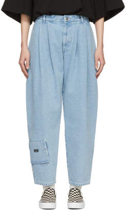 Gosha Rubchinskiy Blue Carpenter Fit Jeans