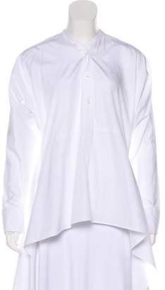 Tome Long Sleeve V-Neck Blouse