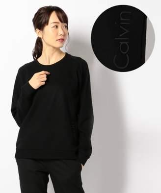 Calvin Klein (カルバン クライン) - Calvin Klein women 【UNISEX 手洗可能】ウォッシャブルウール スウェット(C)FDB