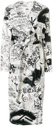 MM6 MAISON MARGIELA printed denim jacket