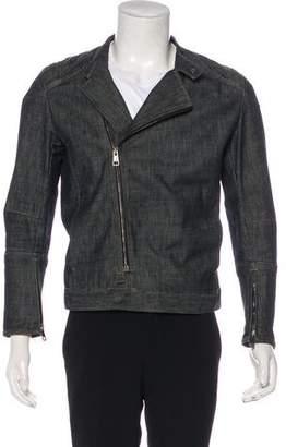 Gucci Denim Moto Jacket