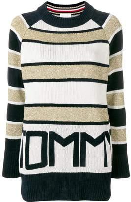 Tommy Hilfiger (トミー ヒルフィガー) - Tommy Hilfiger Tommy Icons ストライプ セーター