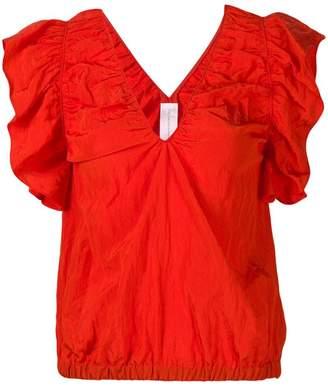 Victoria Beckham Victoria creased-effect blouse