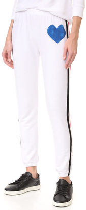 Wildfox Classic Heart Bottoms Sweats $108 thestylecure.com