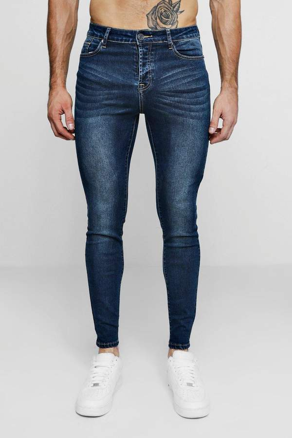 Super Skinny Antique Wash Denim Jean