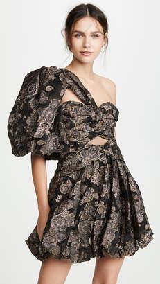 Thurley Jacquard Lantern Dress