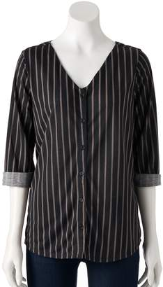 Laundry by Shelli Segal Women's French Crisscross Shirt