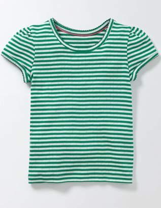 Boden Short Sleeve Pointelle T-shirt