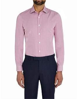 Richard James Mayfair Diamond Dobby Slim Fit Shirt