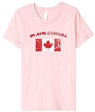 Blame Canada Flag T Shirt 20533