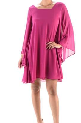Aryeh Bell-Sleeve Swing Dress