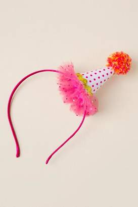 francesca's Nina Party Hat Headband - Pink