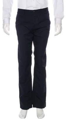 Burberry Flat Front Chino Pants