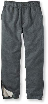 L.L. Bean L.L.Bean Men's Athletic Sweats, Fly-Front Pants
