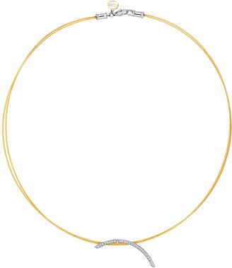 Alor 18K & Stainless Steel 0.24 Ct. Tw. Diamond Classique Necklace