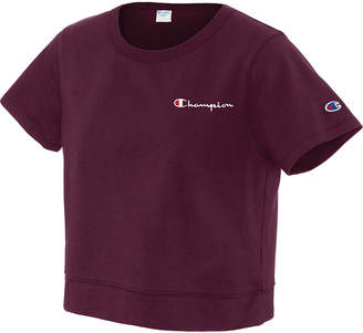 Champion Cotton Cropped T-Shirt