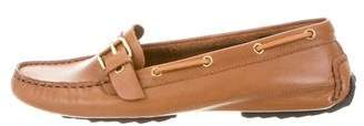 Pierre Hardy Leather Round-Toe Loafers