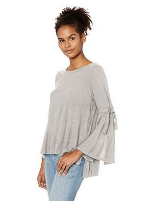 Jack by BB Dakota Junior's Hustle & Flow Brushed Knit Top